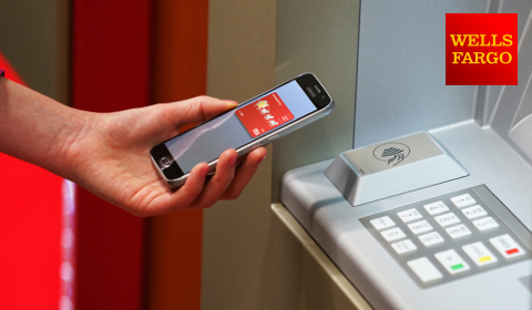 Retrait sans contact par mobile – Wells Fargo