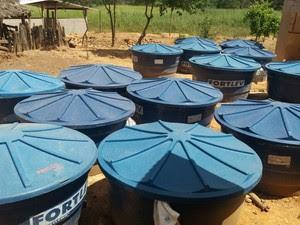 Queijos eram armazendos em caixas d'água (Foto: IMA/Divulgação)