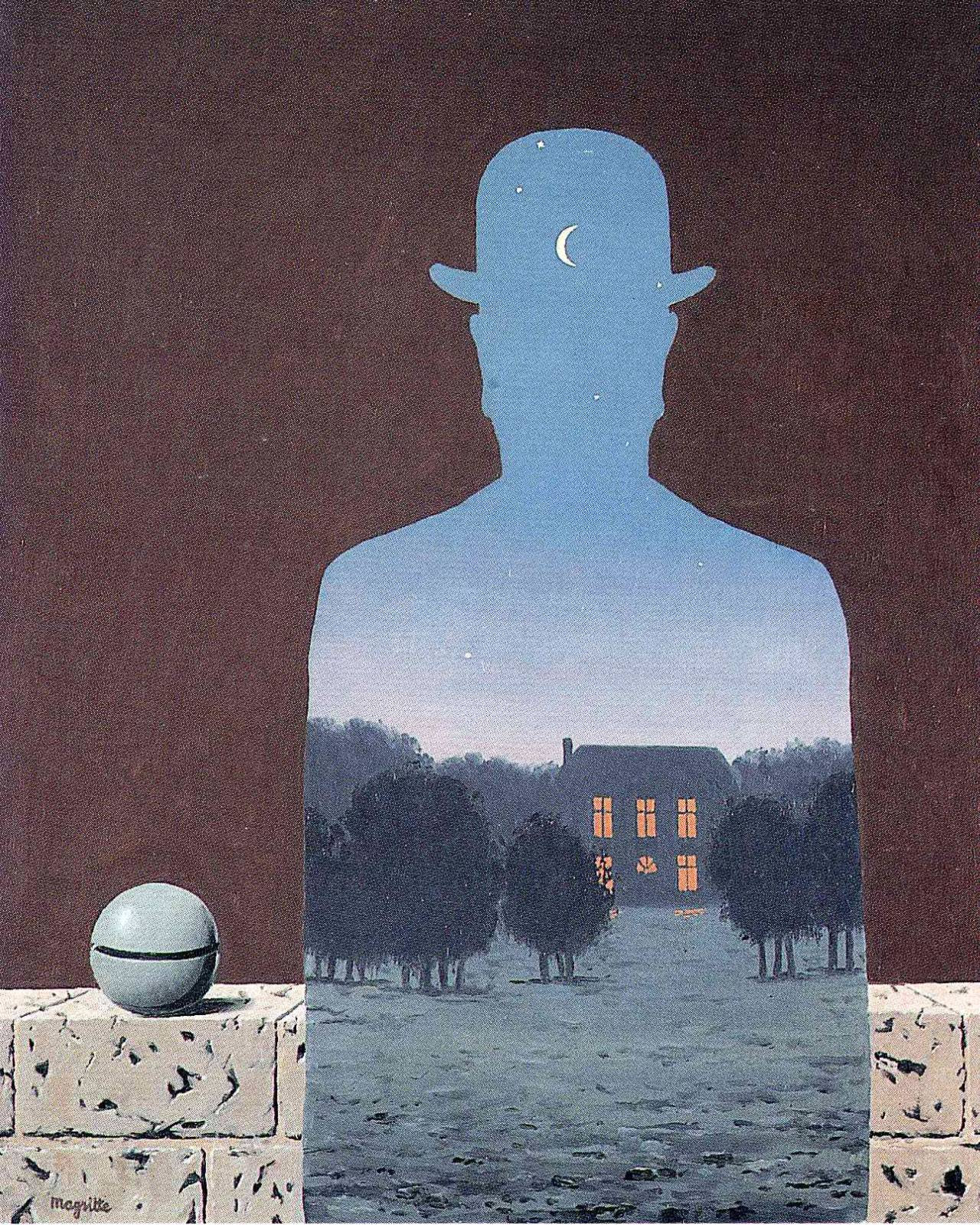 The happy donor, 1966 Rene Magritte