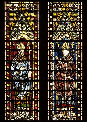 York Minster, wI, 2e-4e, Archbishop, 2f-4f, St Oswald of Worcester