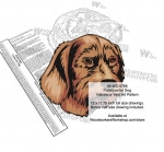 Pudelpointer Dog Dog Yard Art Woodworking Pattern - fee plans from WoodworkersWorkshop® Online Store - Pudelpointer Dogs,pets,animals,dog breeds,yard art,painting wood crafts,scrollsawing patterns,drawings,plywood,plywoodworking plans,woodworkers projects,workshop blueprints
