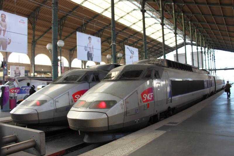 TGV 13 in Paris France
