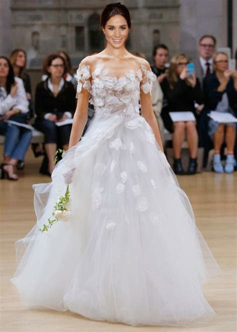 First sketches of Meghan Markle's potential wedding dress