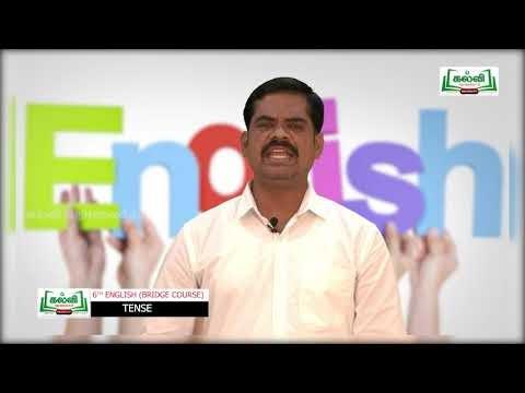6th English Bridge course Tense & Conjunctions Day 5 & 6 Kalvi TV