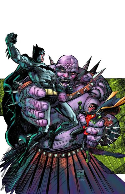 Convergence Batman & Robin #2
