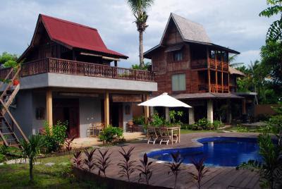 Villa Rumah  Kayu Indonesia  Gili Trawangan Booking com