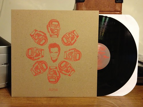 Dan Sartain - Crimson Guard LP /200 by Tim PopKid