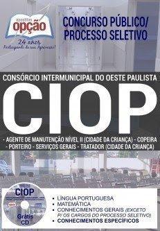 APOSTILA Processo Seletivo CIOP 2017