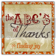 Finding Joy  The ABC's of Thanks