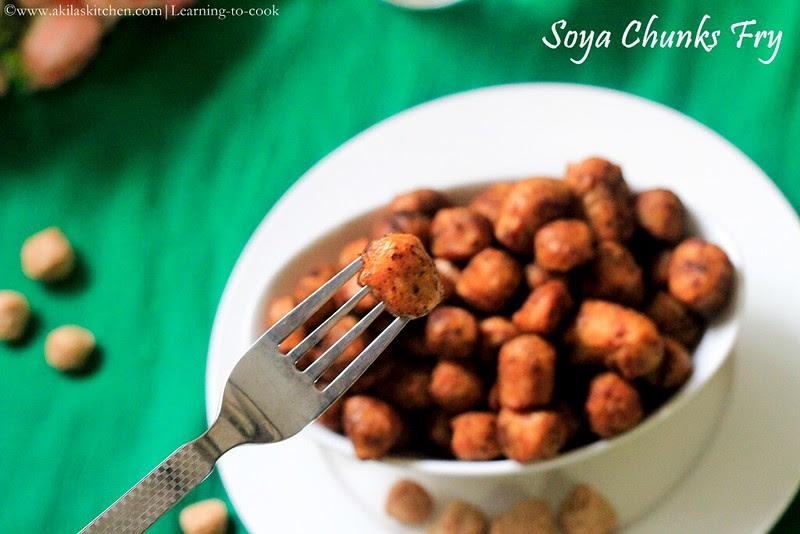 soya balls fry