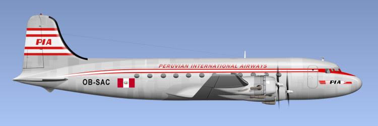 Resultado de imagen de Peruvian International Airways