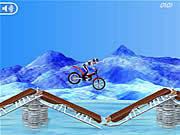 Jogar Bike mania on ice Jogos