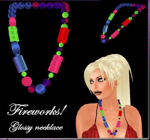 35L Thursday Magia Fireworks Necklace
