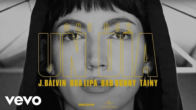 UN DIA (ONE DAY) LYRICS - J BALVIN - DUA LIPA