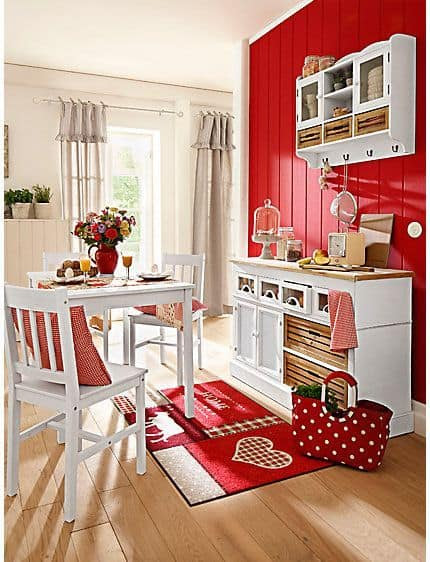 53 Bold Red Accent Walls to Beautify Your Home ...
