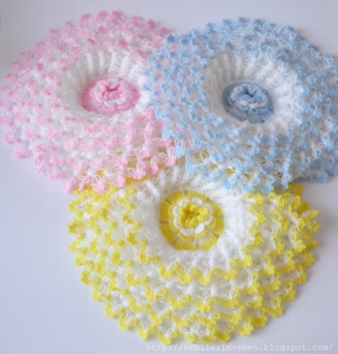 tie crochet flowers (667x700, 281Kb)