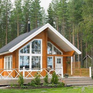 60+ contoh gambar rumah kayu minimalis modern terbaik