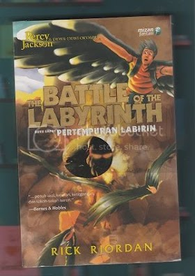 The Battle of The Labyrinth (Reread) Review