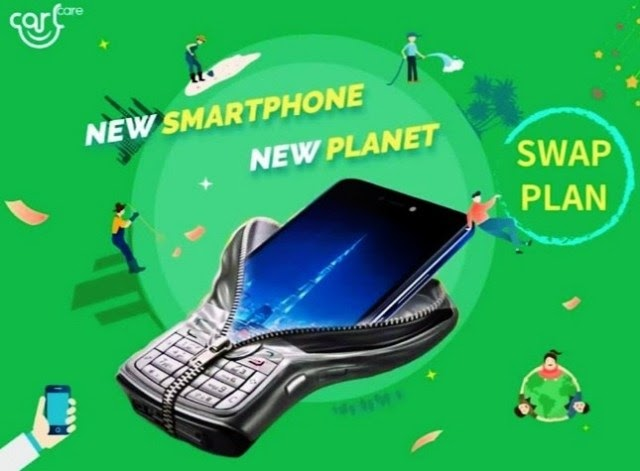 How to swap used phones for new phone in Nigeria with Calcare
