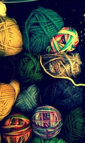 Retro yarn