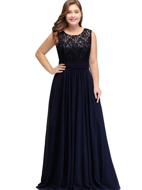 Babyonlinedress Women Plus Size Chiffon Bridesmaid Wedding