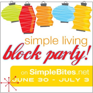 simple living block party