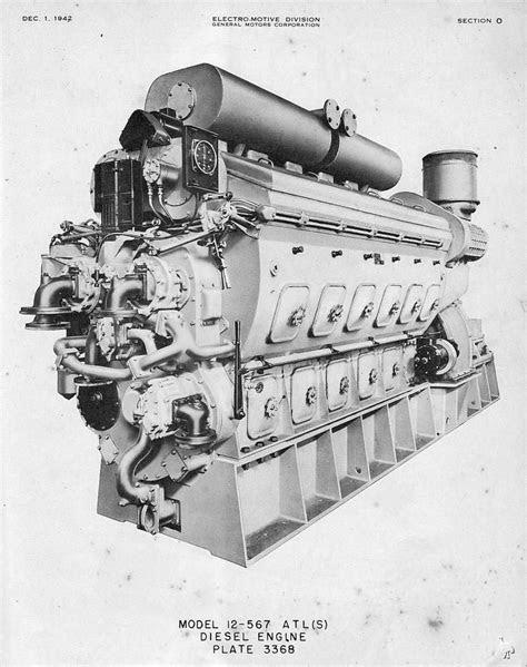 EMD 12-567 ATLS for LST's Still in use on Railroad