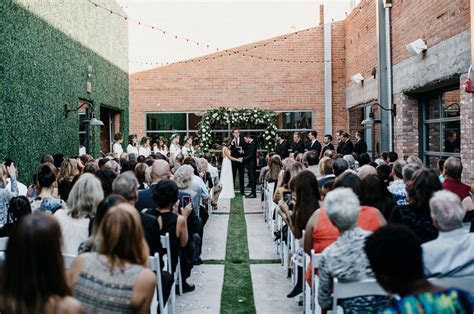 Urban Garden Arizona Wedding: Bonny   Shane   Green