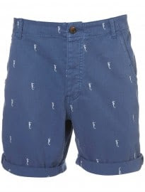 Topman Sea Horse Embroidery Shorts