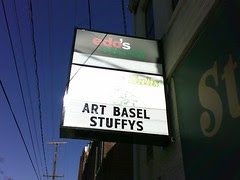 Art Basel: Stuffy's