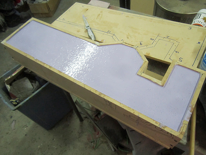 Helghast Rifle 2nd Mold Half Poured