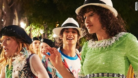 Chanel in Cuba: Models and the international fashion community dance through the streets of Havana