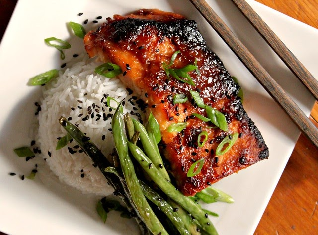 Kitchen Snaps: Broiled Salmon with Miso Glaze, Sesame ...