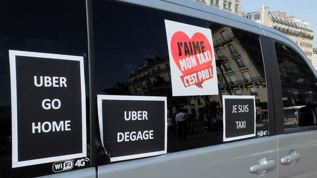 La policía francesa arresta al CEO de Uber tras la huelga de taxistas