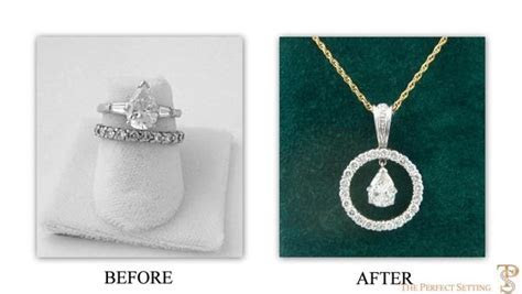 Resetting  Pear Diamond Engagement Ring ? The Perfect Setting