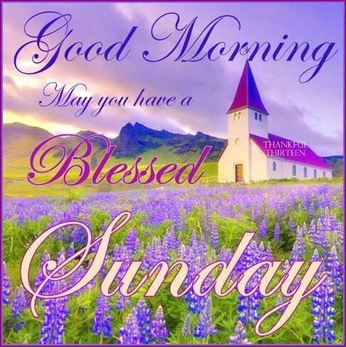 Good Morning May You Have A Blessed Sunday Pictures Photos And