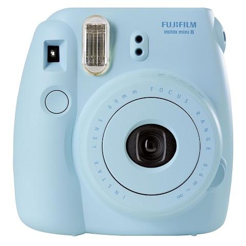 Fujifilm Instax Mini 8 Instant Film Camera Blue