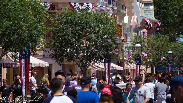 Disneyland Resort, Disneyland, Main Street U.S.A., Patriotic, Decoration