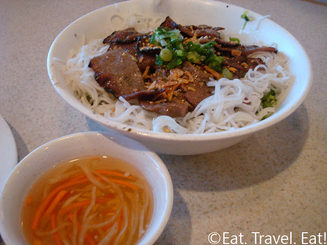 Rice Noodle with Pork and Fish Sauce