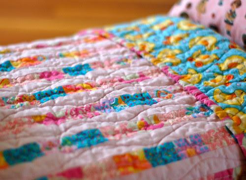 A tiny quilt
