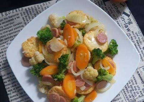 Resep Tofu Cah Brokoli