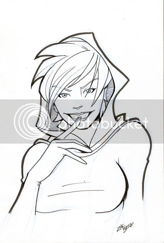 Sketch Vampira