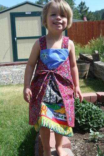 Anna wrap dress