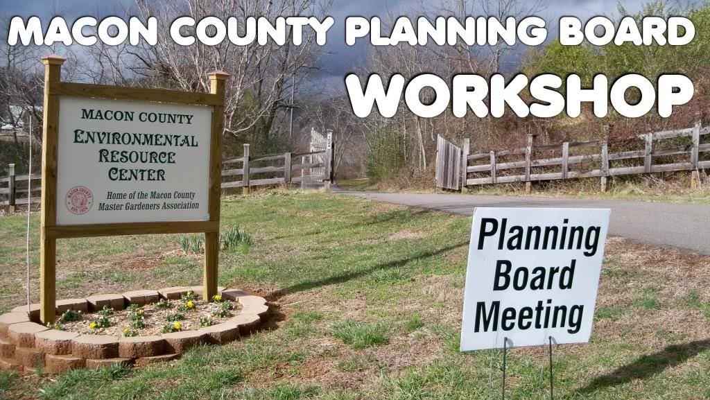 Macon County Planning Board Workshop