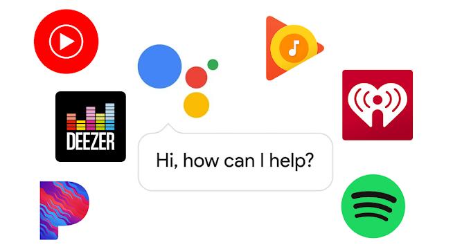 How to change Google Assistant default music app