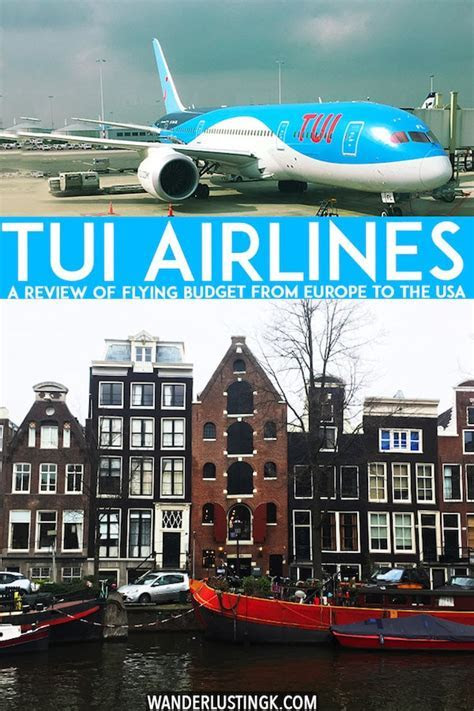 A review of flying with TUI airlines long haul from Europe