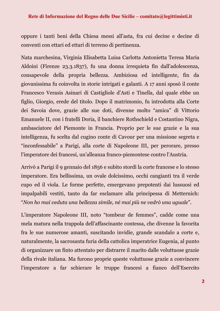 CONTESSA CASTIGLIONE 2#001