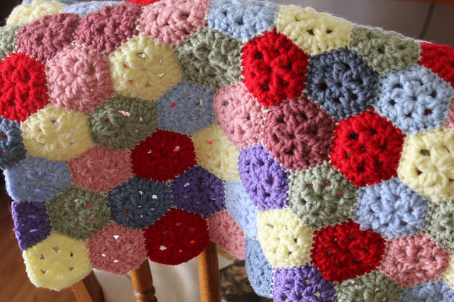 Mini Hexagon Pillow