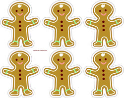 Natal Gingerbread Men