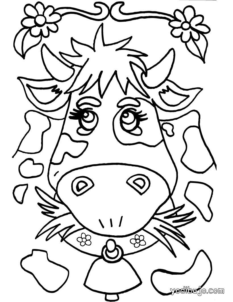 Dibujos Animales De Granja Para Colorear 41 Dibujos De Animales